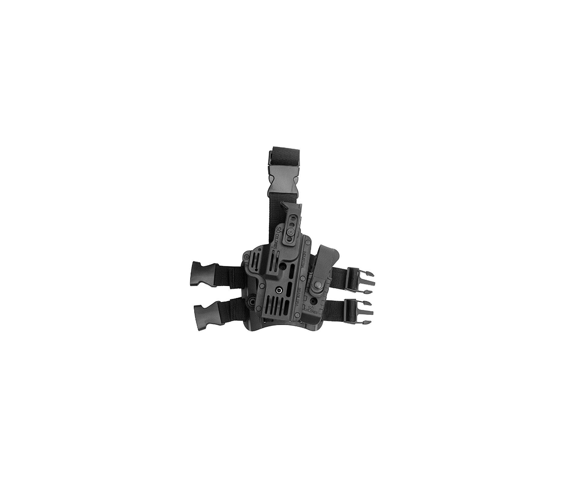 Coldre Predador De Perna Pistolas Taurus, Glock Imbel Só Coldre Destro