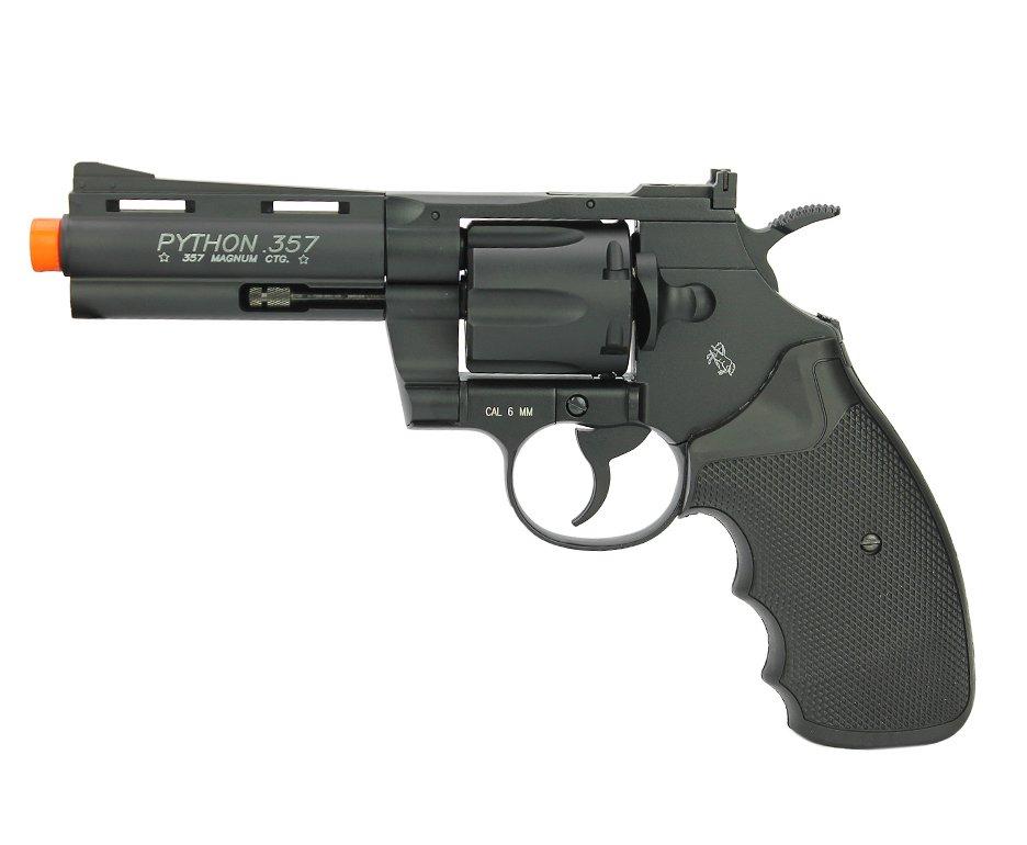 Revolver De Airsoft Co2 Colt Python 357 4 Pol Full Metal Cal 6,0mm