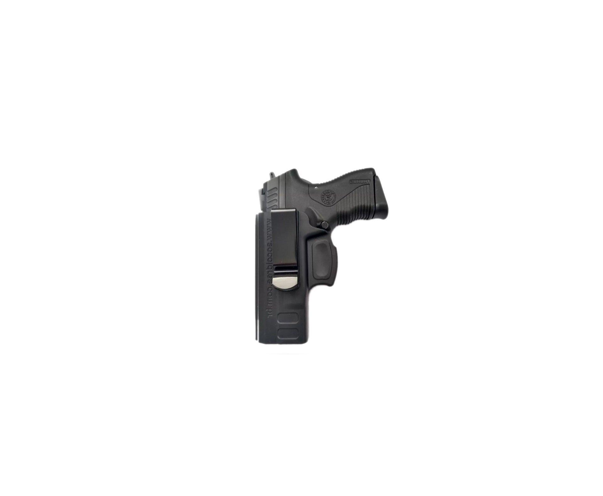 Coldre Velado Pistola Taurus Pt838c, 809, 840 Canhoto So Coldres