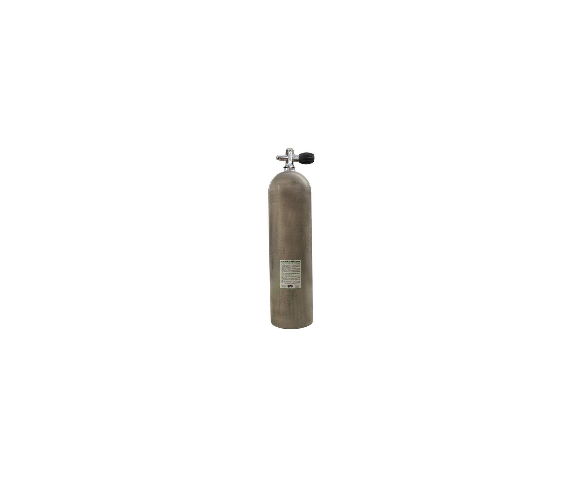 Cilindro Scuba 11,1 Litros + Valvula Yoke + Adaptador Recarga Para Pcp