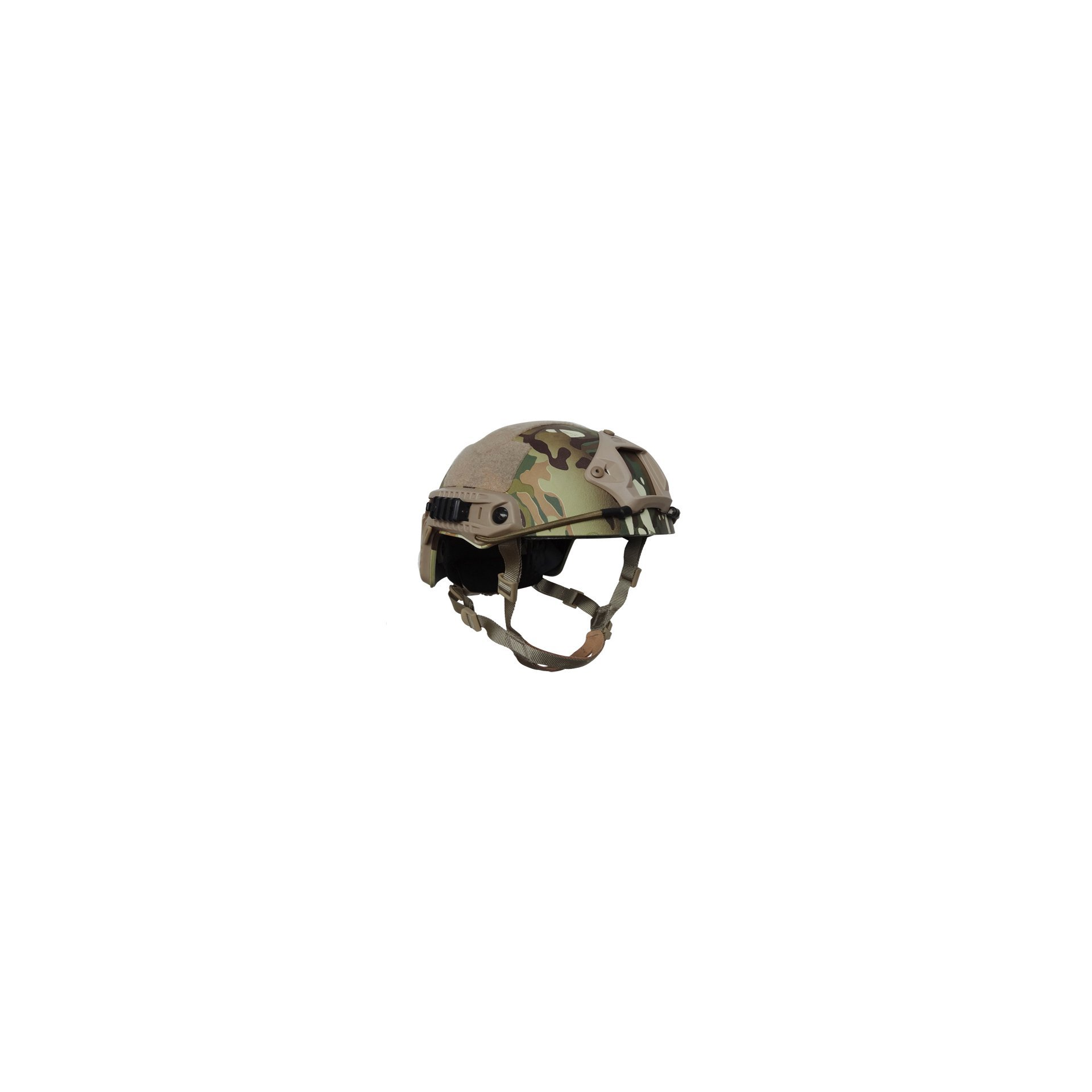 Capacete Tático Para Airsoft/paintball Mod Fast B Multican