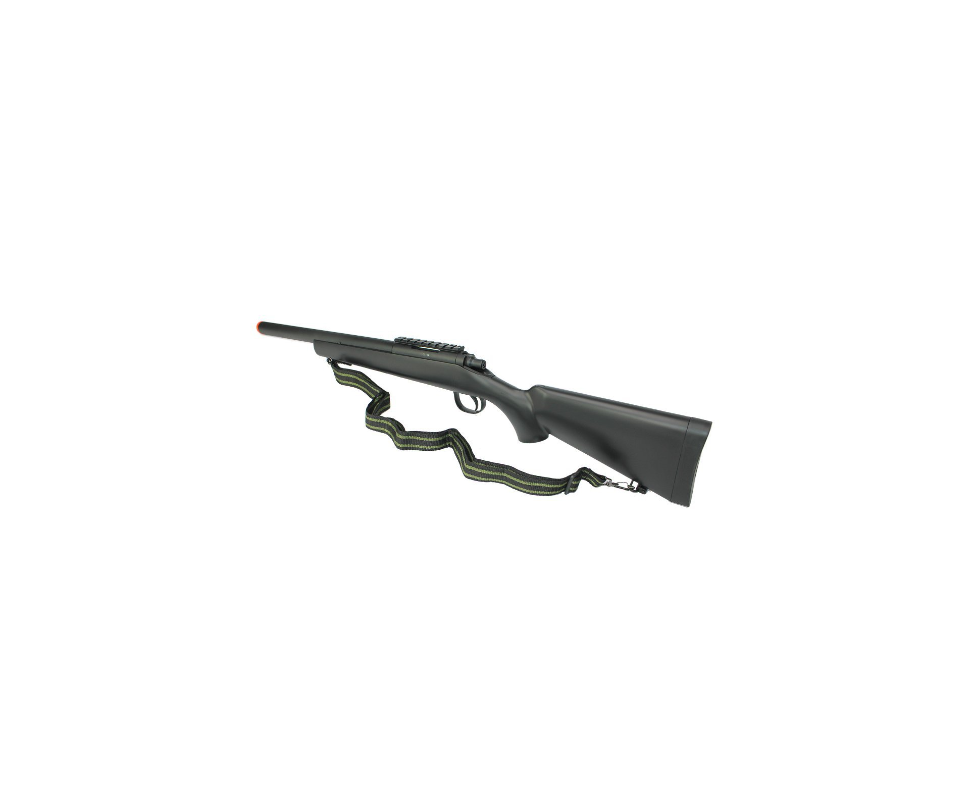 Rifle De Airsoft Sniper Spring Vsr Mb-02g Black 6,0mm Well