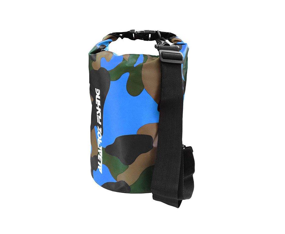 Bolsa Bag A Prova D Agua Thermo 30l Camuflado Azul - Albatroz