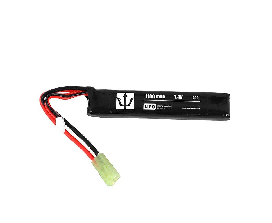 Bateria Lipo Lithium 1100mah 7.4v 20c - Evo