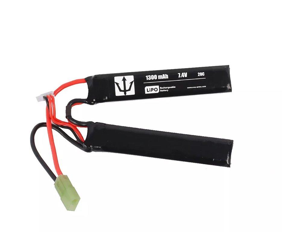 Bateria Lipo Lithium 1300mah 7.4v 20c - Evo