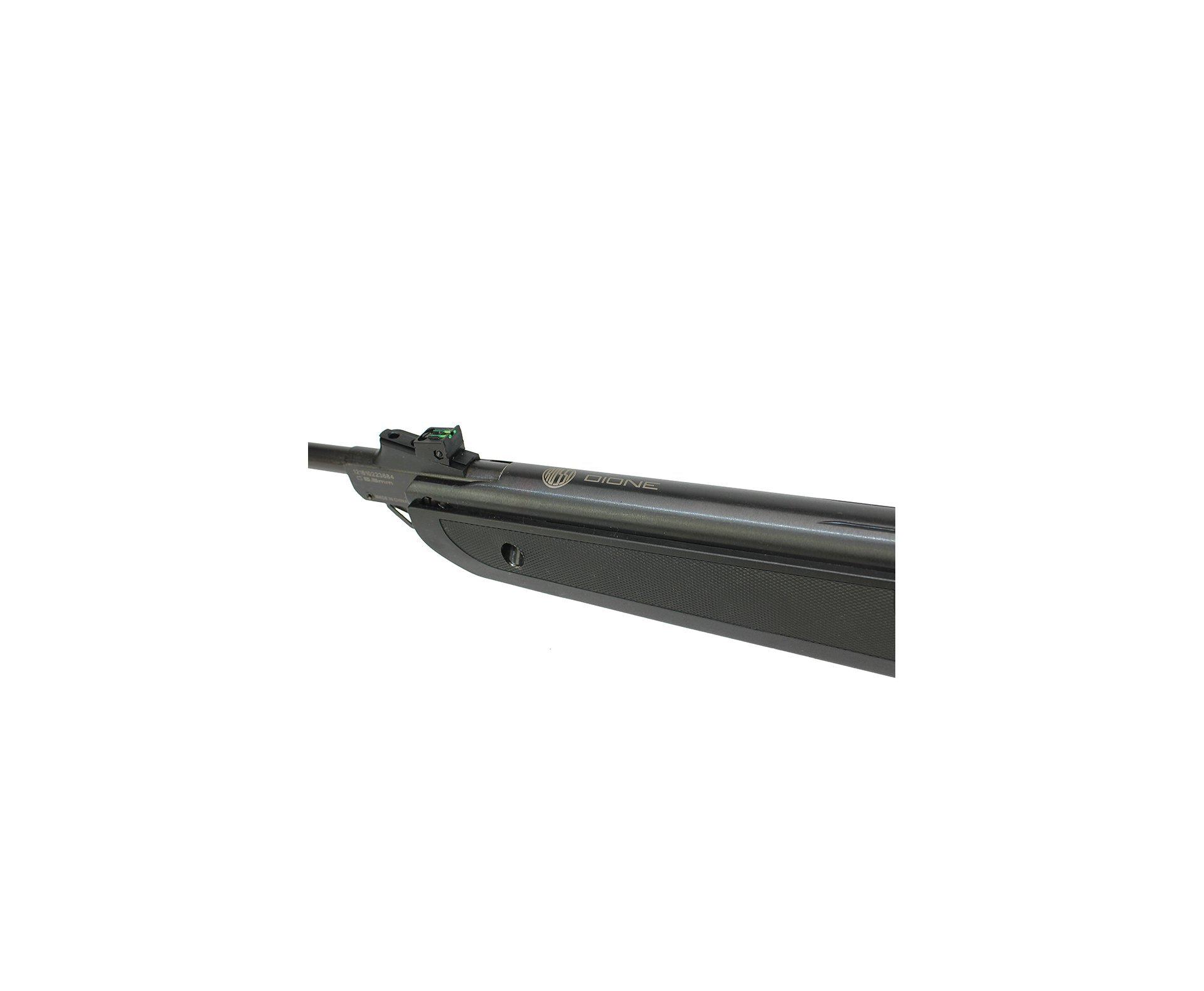 Carabina De Pressão Nova Dione Black Cal 5,5mm - 3° Geração - Rossi