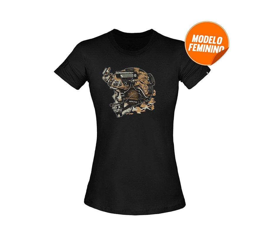 Camiseta T-shirt Invictus Concept Feminina Blackjack