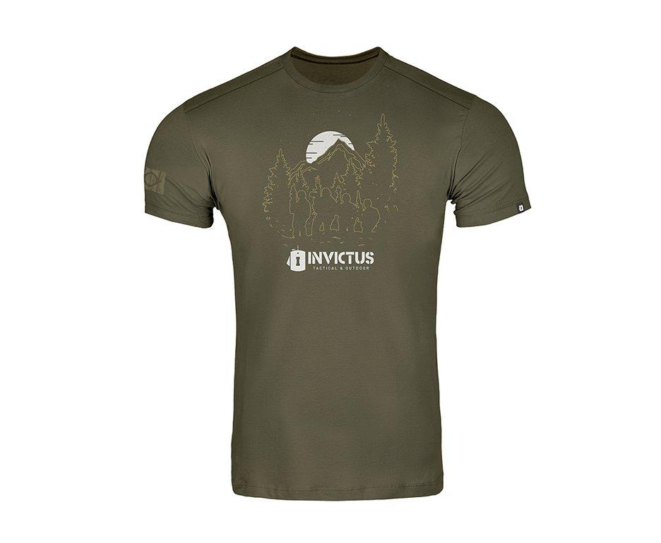 Camiseta T-shirt Invictus Concept Troop