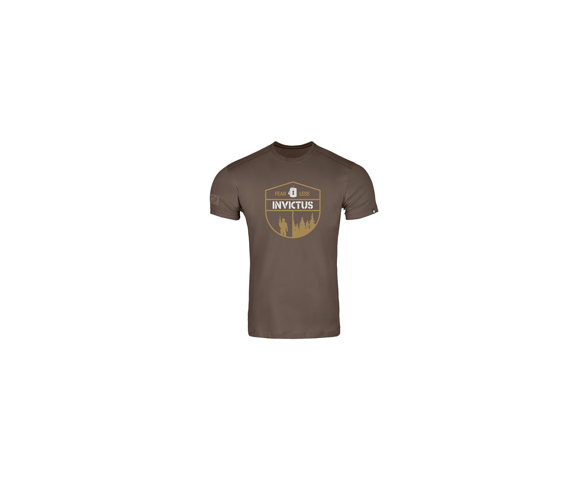 Camiseta T-shirt Invictus Concept Fearless