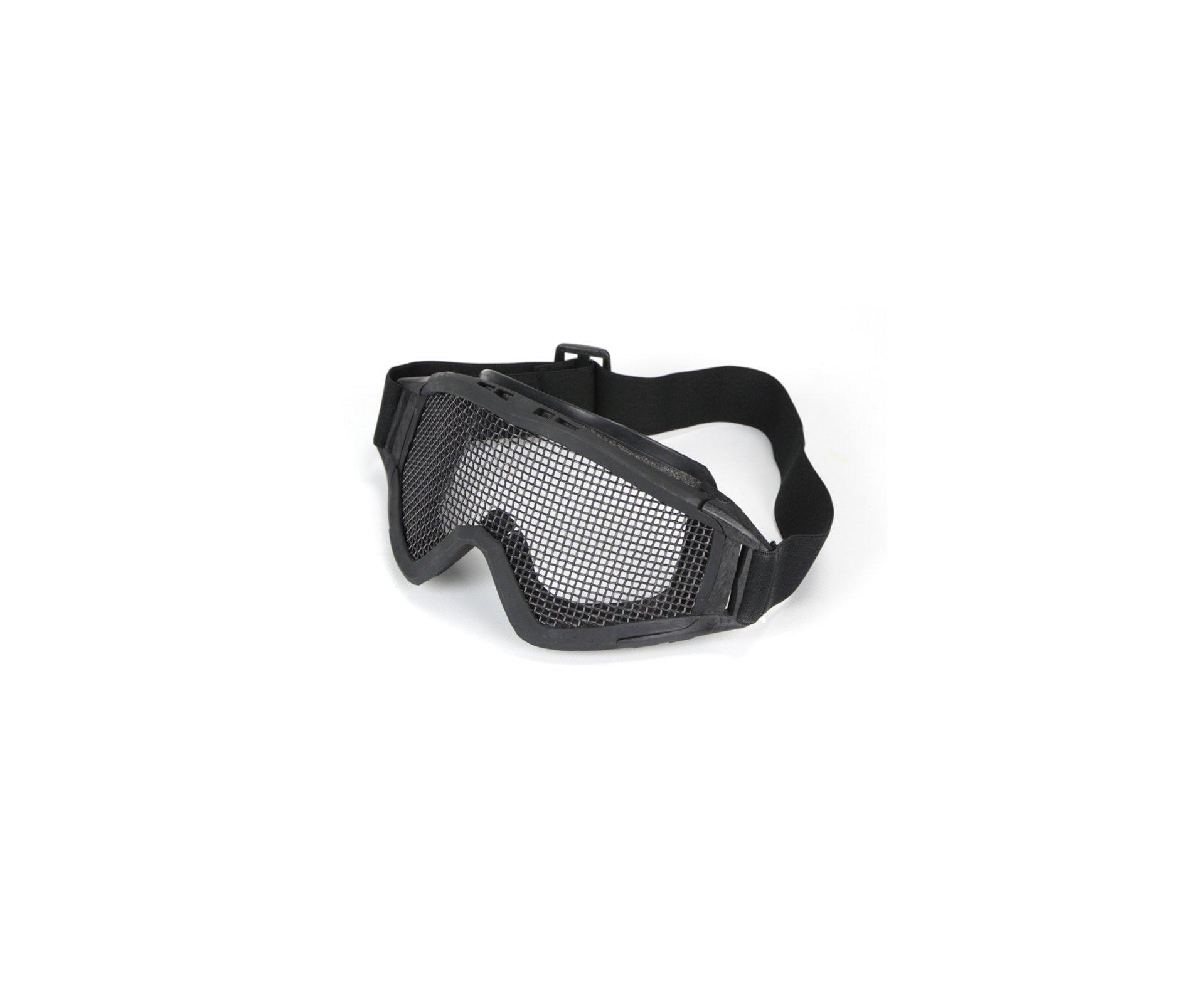óculos De Proteção Para Airsoft Telado - Preto