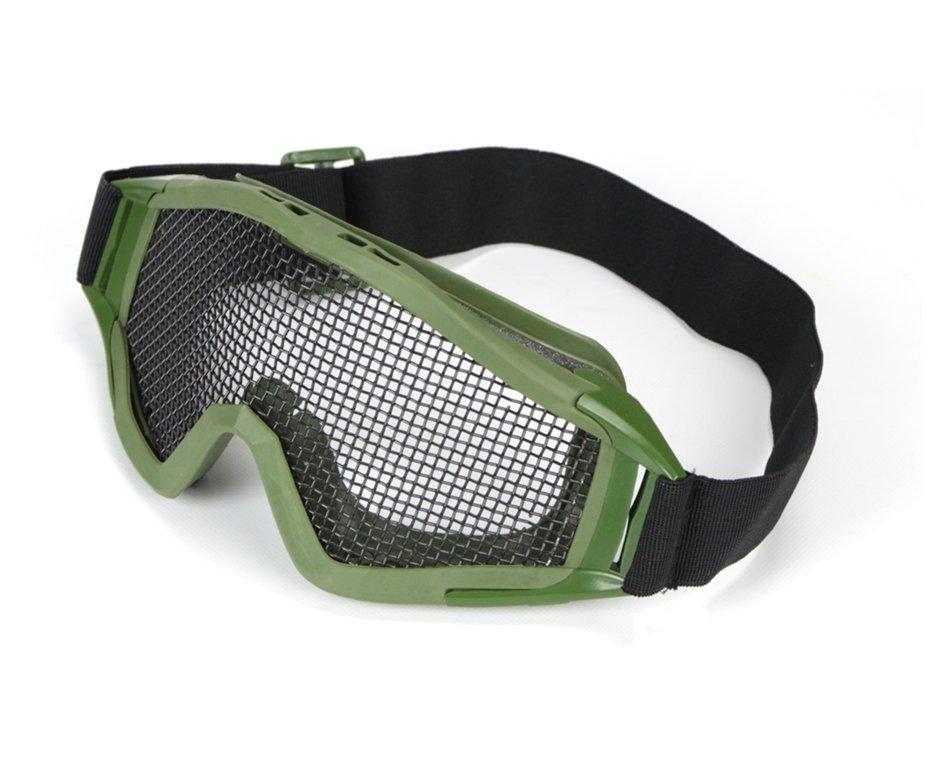 óculos De Proteção Para Airsoft Telado - Verde