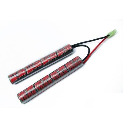 Bateria Para Airsoft 9,6v 1200mah - King Arms - (m4/fal)