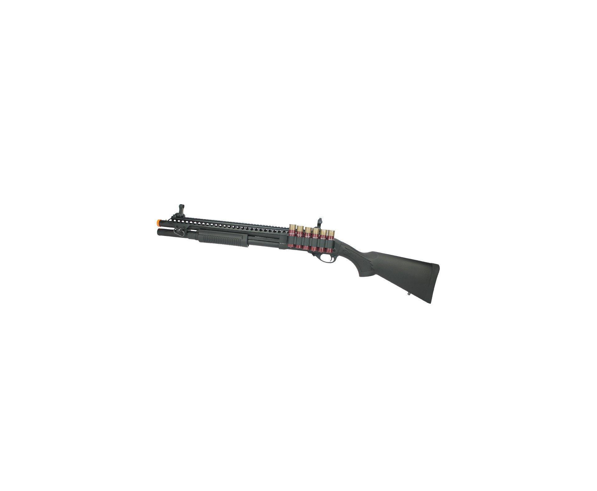 Escopeta Shotgun De Airsoft Gbb Full Metal V0001 Epg Velites G-xi Cal 6,00mm