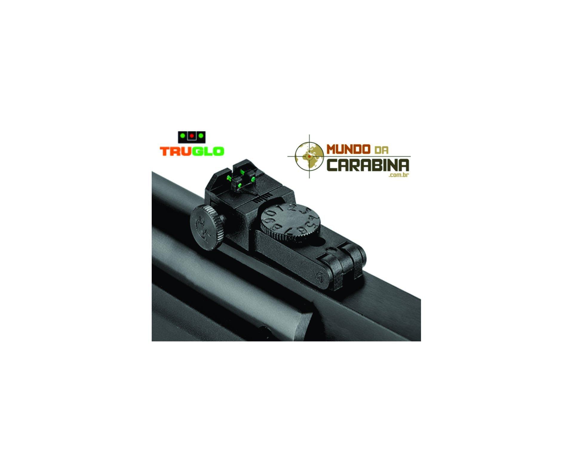 Carabina De Pressão Hatsan Striker Edge Cal 5.5 + Luneta 4x32 + Chumbinhos + Capa