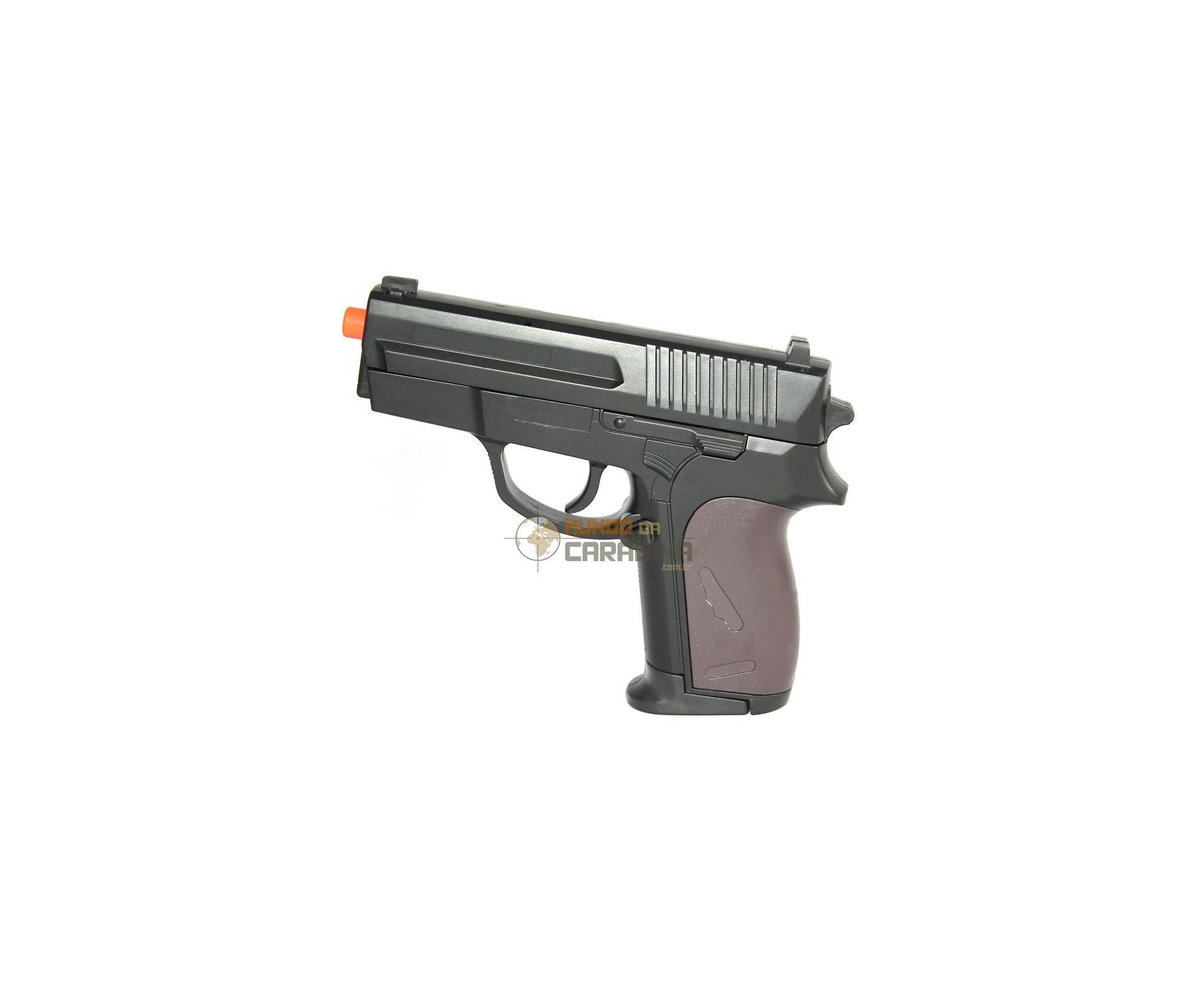 Pistola De Airsoft P618 Spring Rossi Cal 6.0mm
