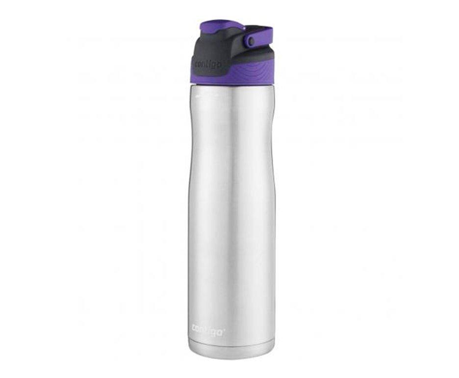 Squeeze Contigo Autoseal Chill Aço Inox 710ml Grapevine