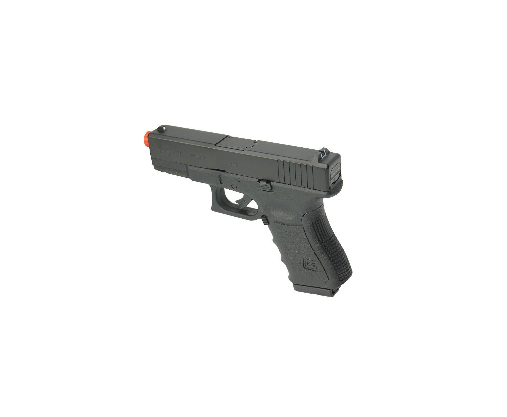 Pistola De Airsoft Gas Co2 Glock G19 Slide Metal Oficial Cal 6mm