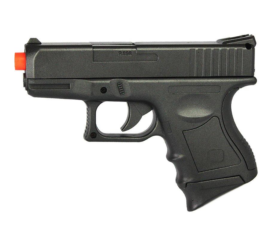 Pistola De Airsoft P698 Spring Rossi - Cal 6.0mm