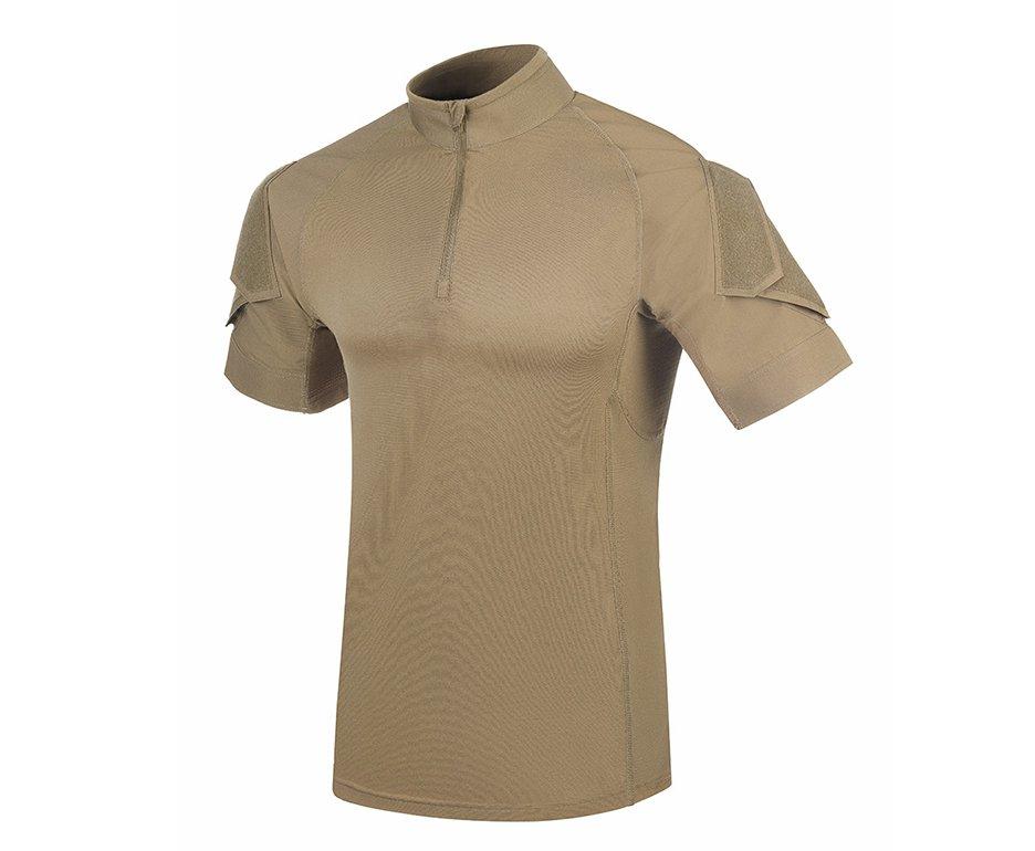 Camisa Tática Invictus Fighter Caqui Mojave