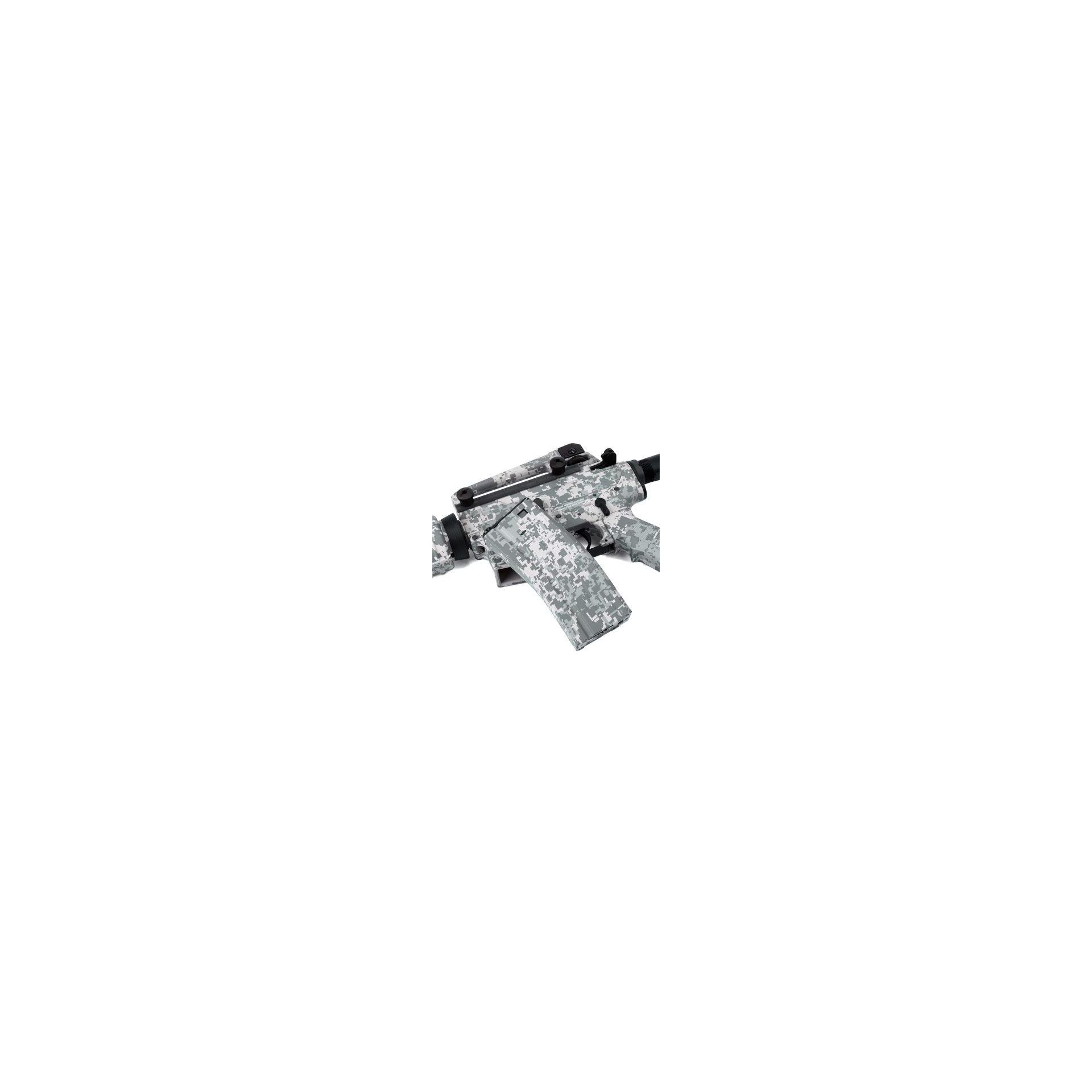 Rifle De Airsoft Navy Seals M4a1 Camuflado Urbana Full Metal Cal 6.0mm - King Arms