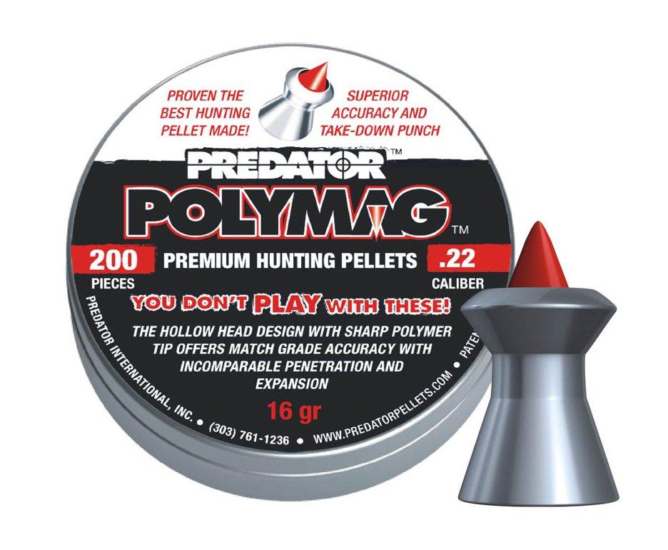Chumbinho Polymag Cal 5,5mm Com 200 Unidades - Predator
