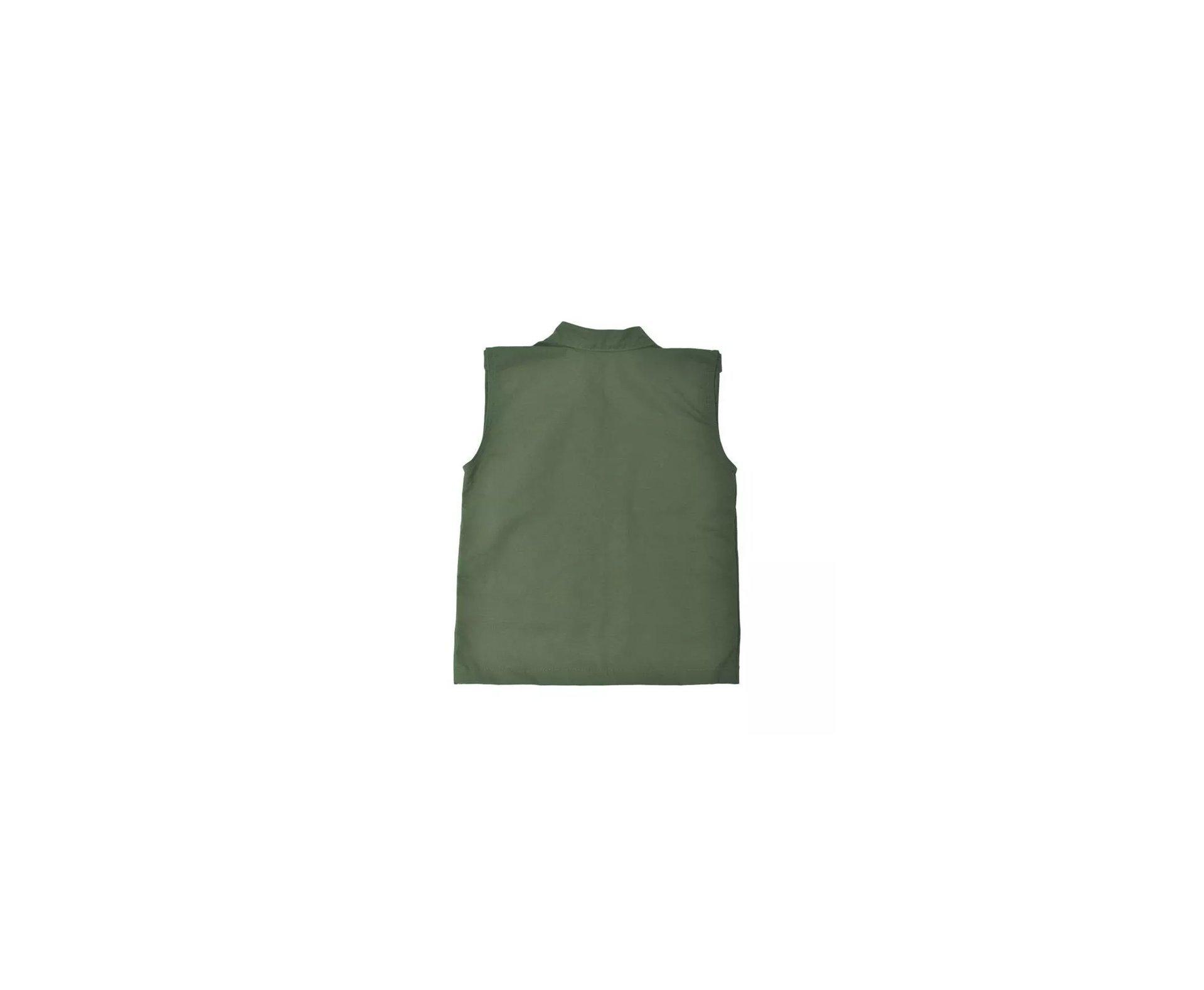 Colete Army Infantil Tt 9-verde Oliva Belica - M