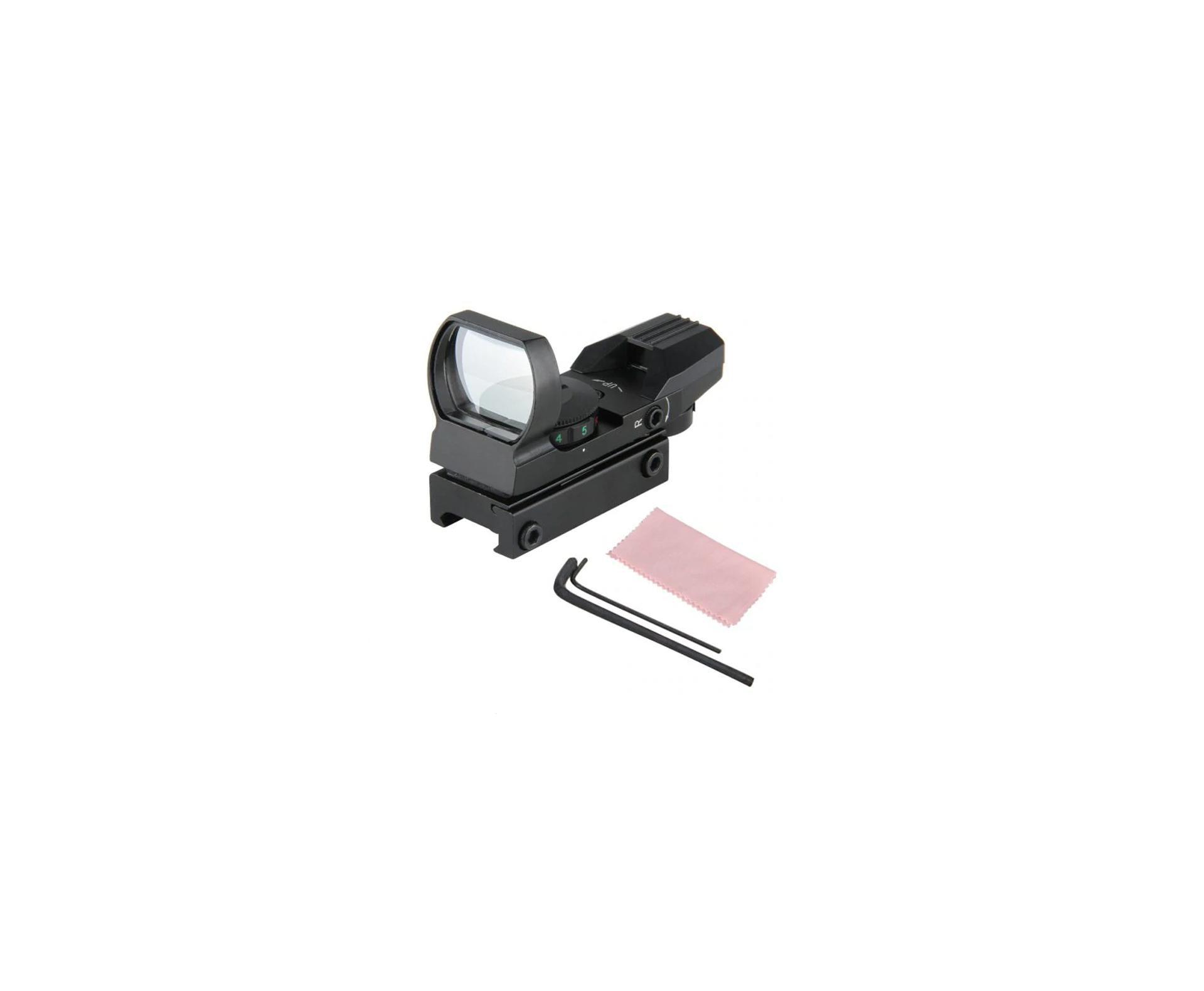 Red Dot 1x22x32 Trilho 11mm Impermeável E Anti-choque Quickshot