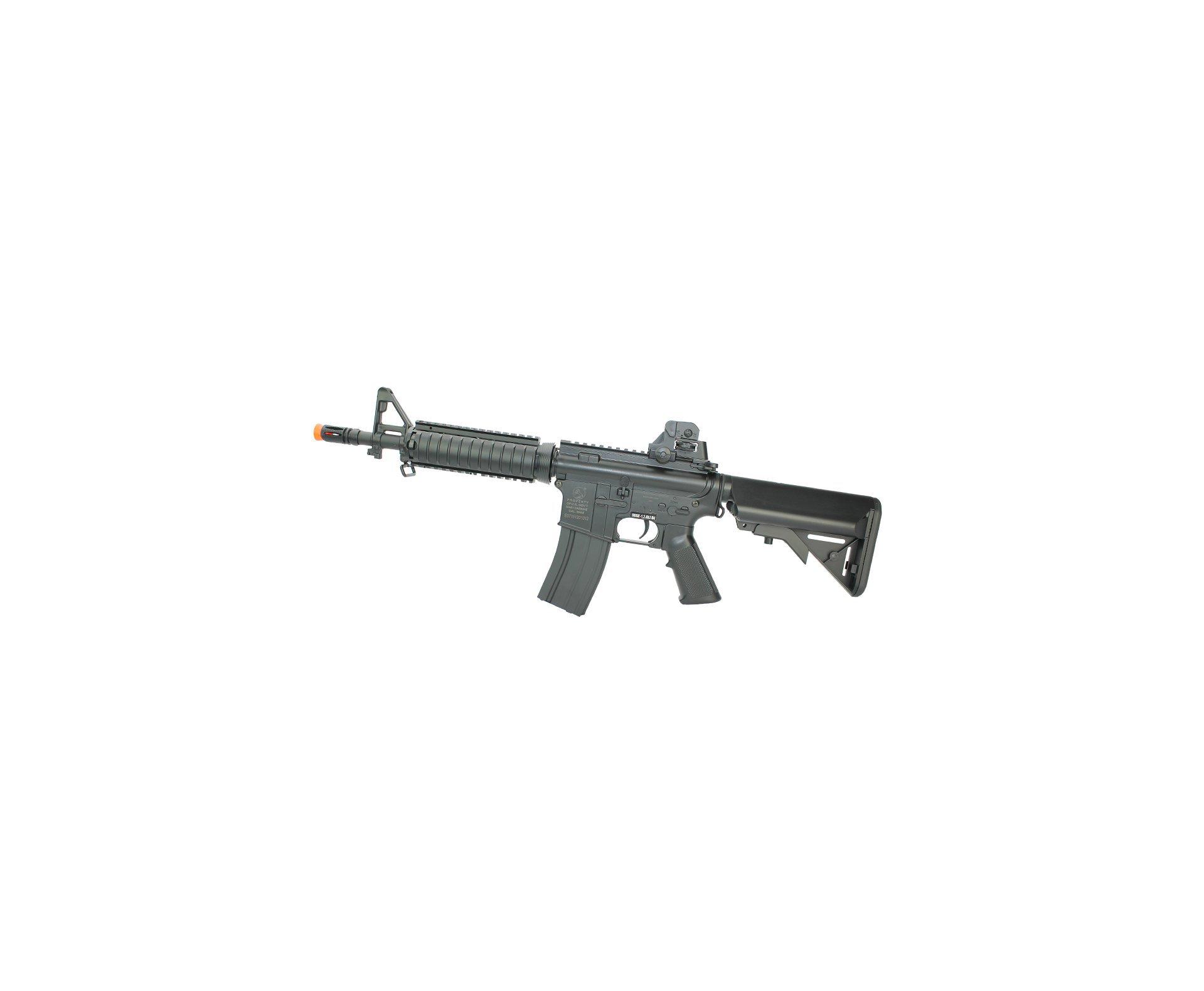 Rifle De Airsoft Colt M4a1 Cqb Ris Eletrico Cal 6mm - Cybergun