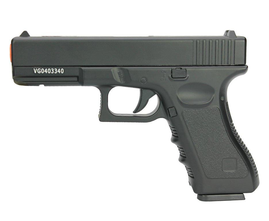 Pistola De Airsoft Full Metal Glock Vg Gk-v20 Spring 6mm