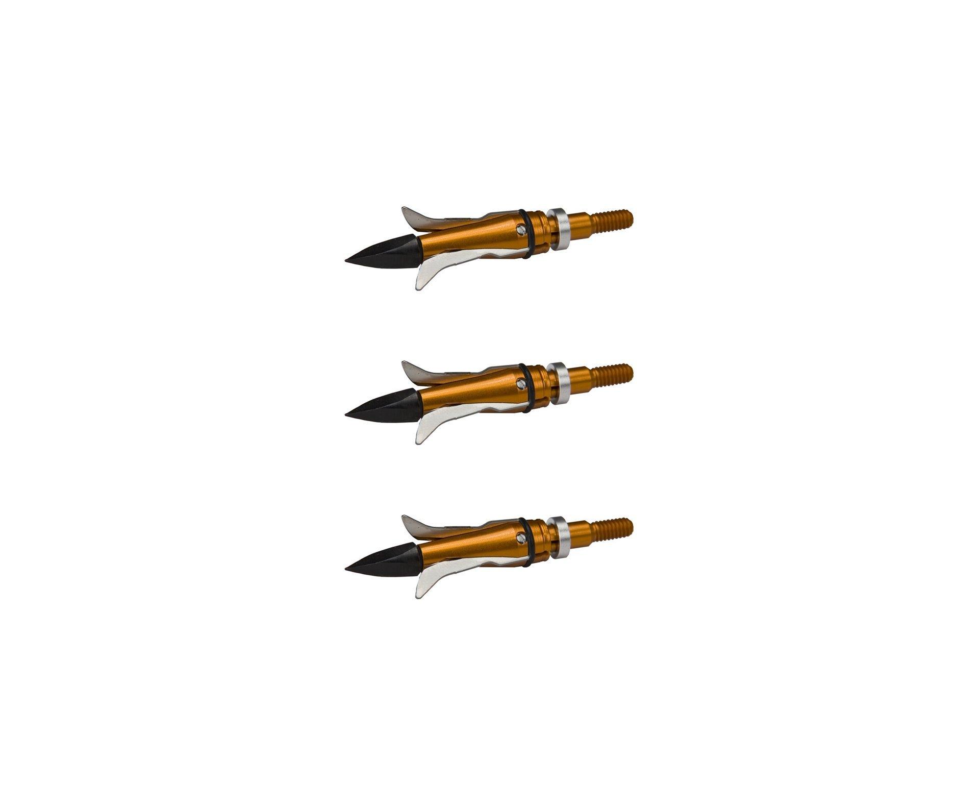 Kit De 3 Ponteiras Gamecrusher 100gr Para Flechas - Barnett