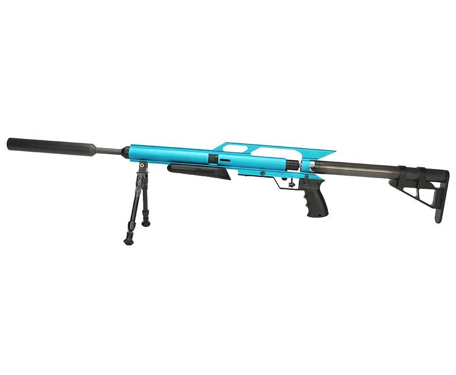 Carabina De Pressão Pcp Hunter Custon Power 5,5mm - Azul (lp)