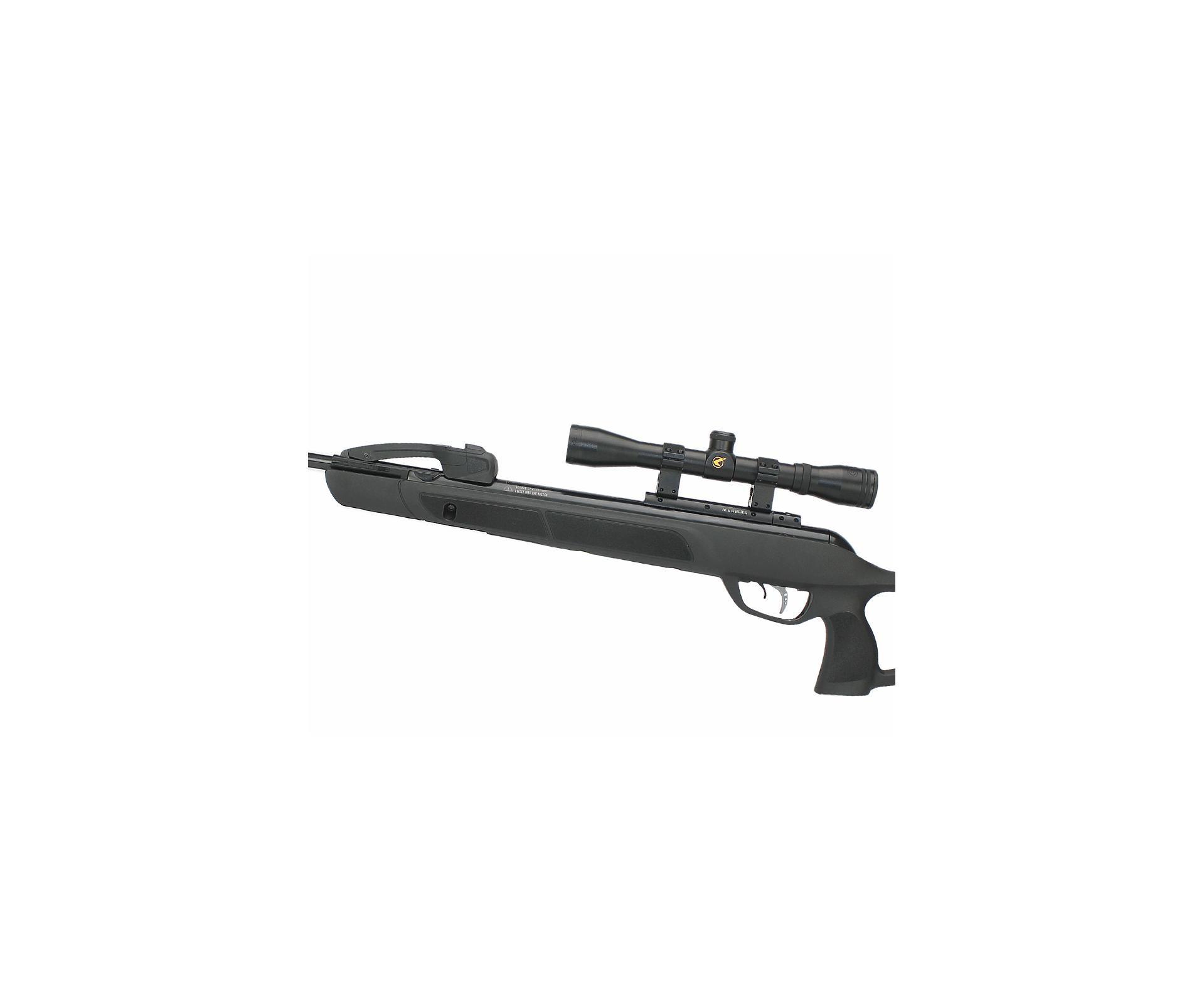 Carabina De Pressão Gamo G-magnum 1250 Replay-10 5,5mm Com Luneta 4x32 Wrh