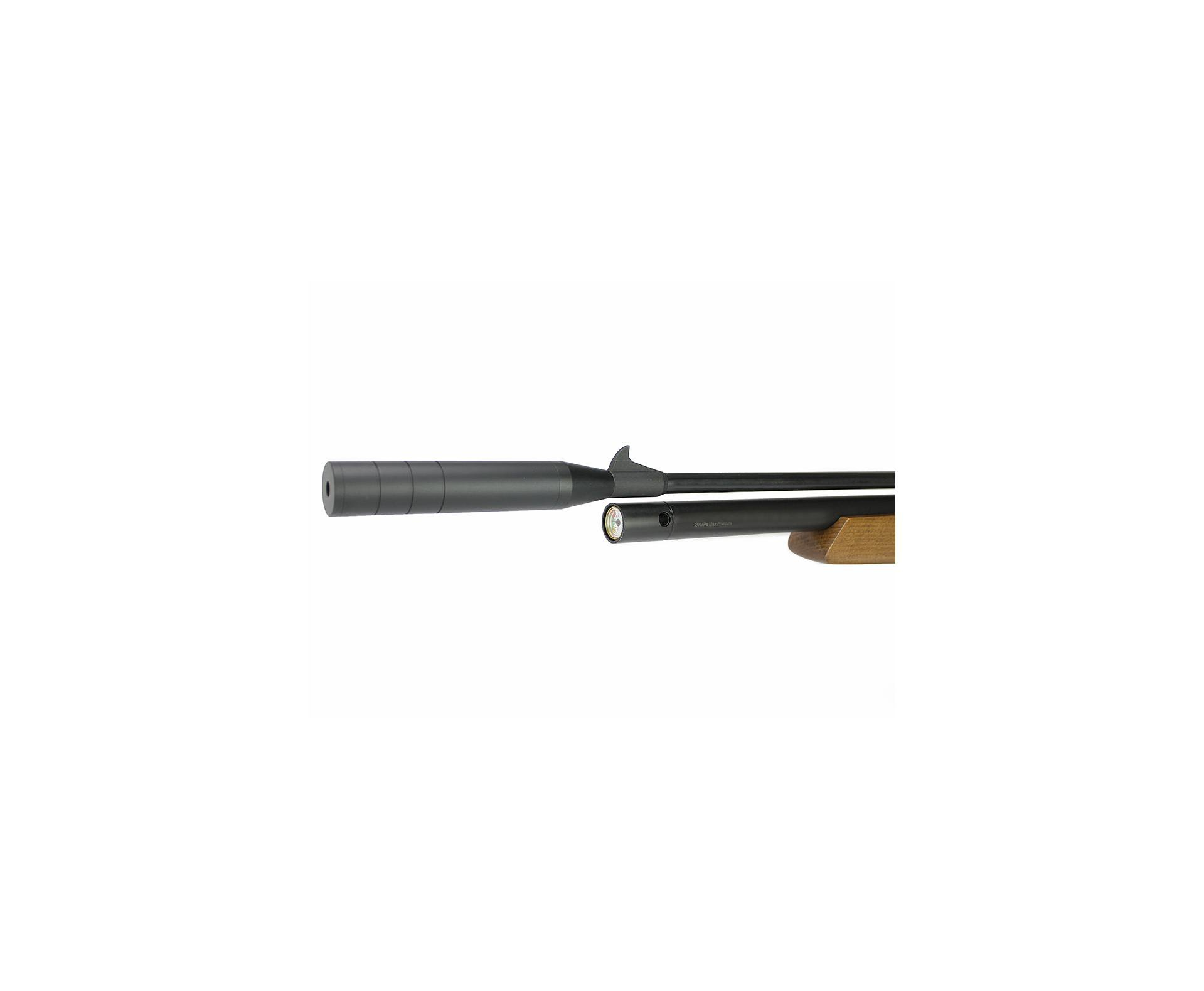 Carabina De Pressão Pcp Pr900w G2 5,5mm New Generation Artemis + Luneta 4x32 + Bomba Manual + Capa + Chumbinho