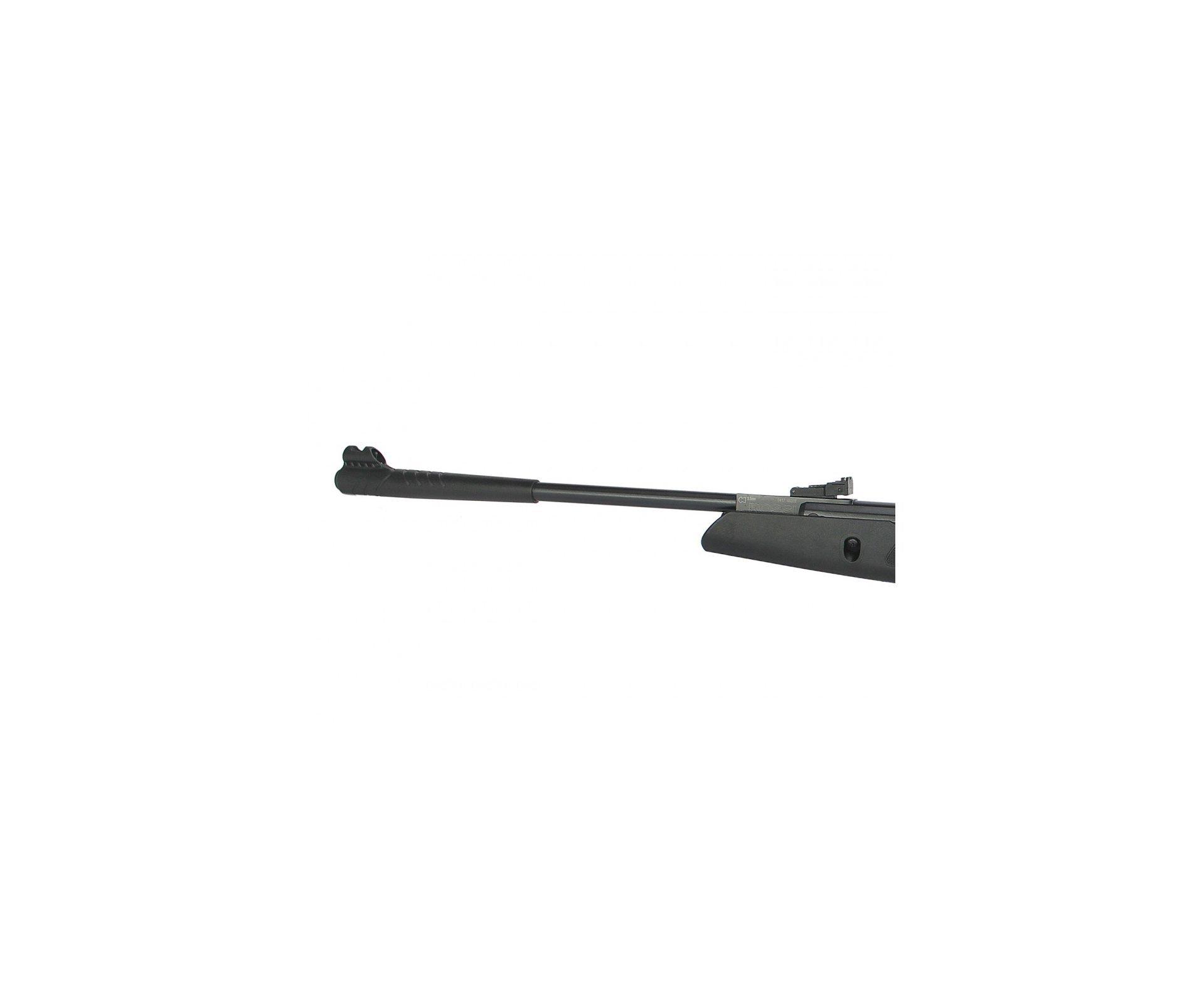Carabina De Pressão Hatsan Striker Edge Com Gas Ram 60kg - Cal 5,5 Mm