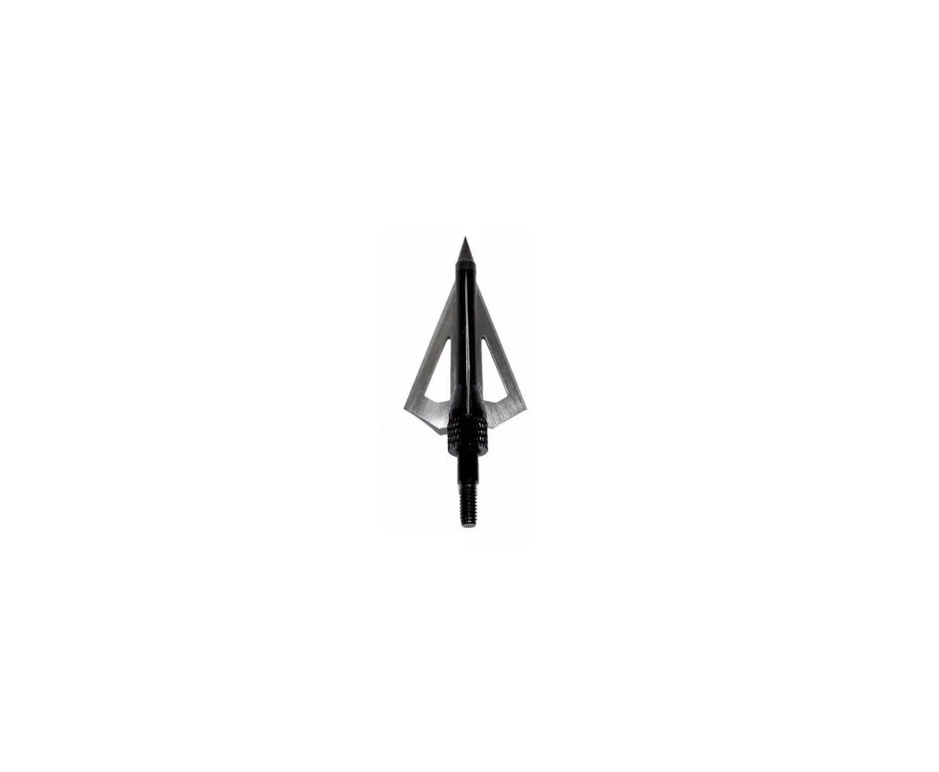 Ponteira De Caça Rosqueável Metal Com 4 Lâminas Mk-4bal - Cartela Com 3 Unid - Man Kung