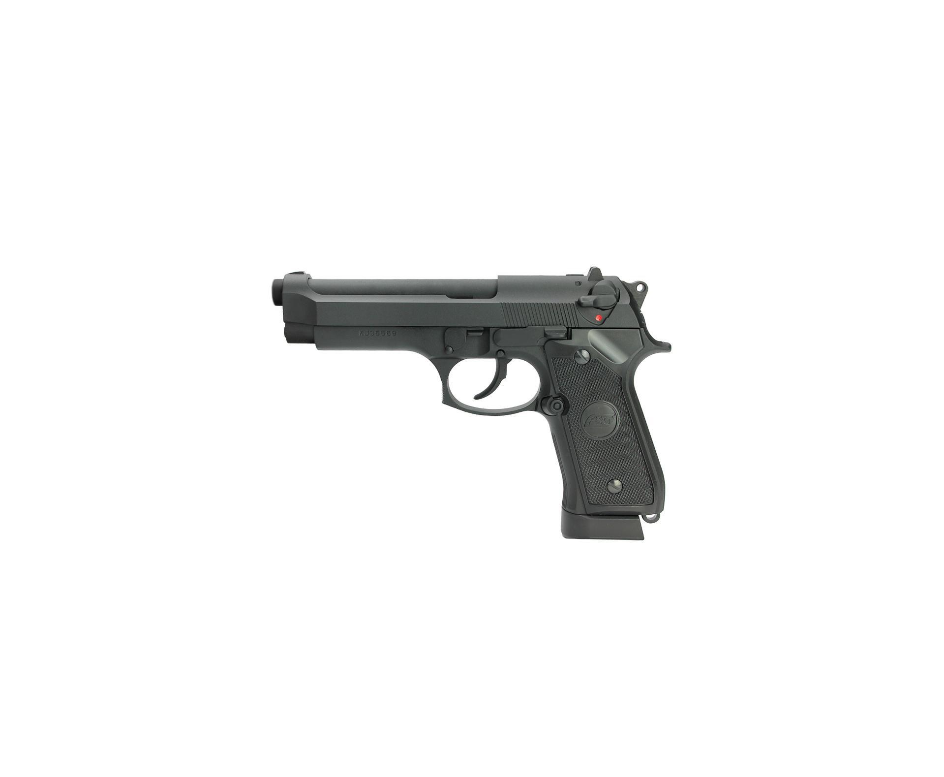 Pistola De Pressão Co2 Full Metal Asg Bereta X9 Classic Blowback 4,5mm