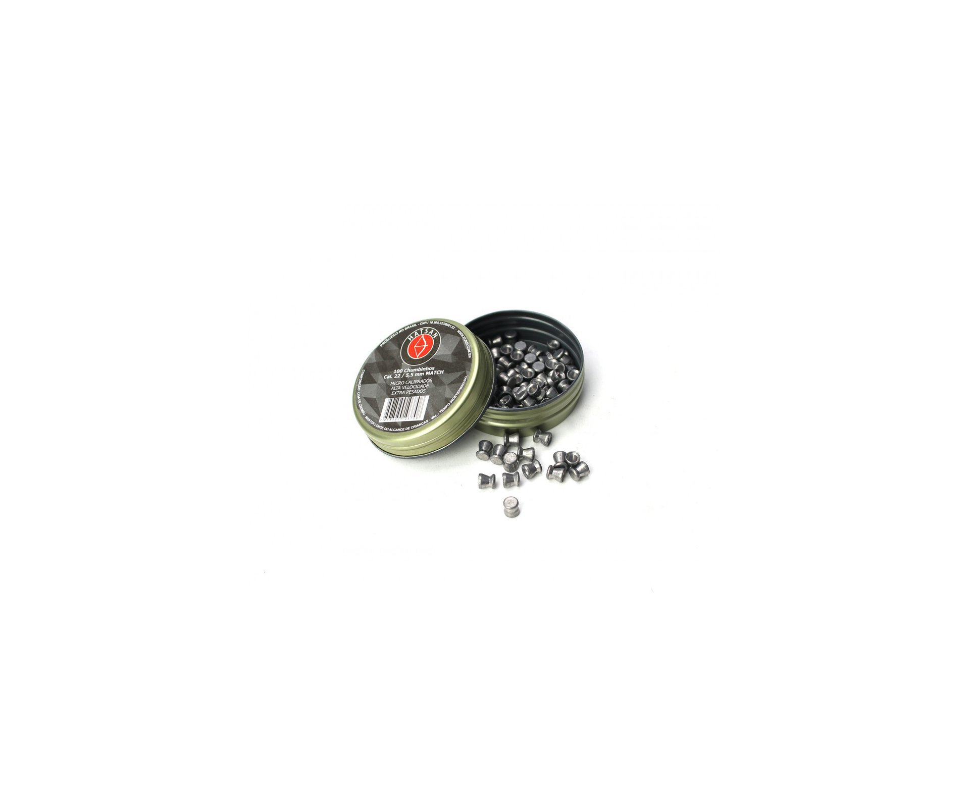 Carabina De Pressão Hatsan Strike Pd Gas Ram 60kg Combo Especial  Cal 5,5mm + Luneta 4x32 + Chumbinho + Case