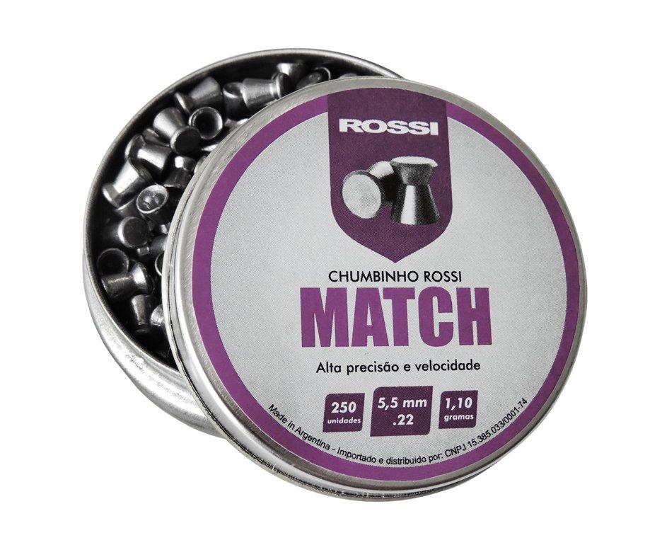 Chumbinho Match 250und Cal 5,5mm - Rossi