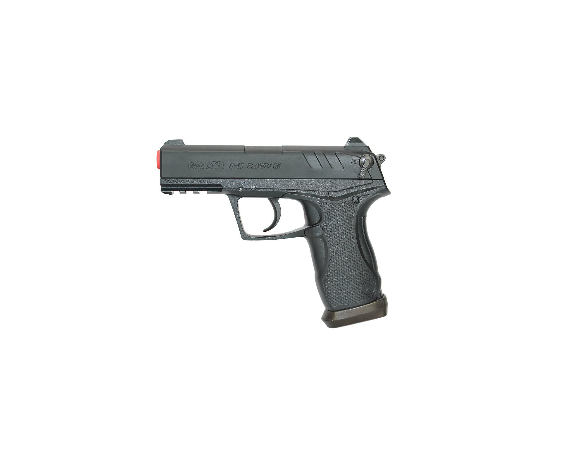 Pistola De Co2 Gamo C15- Blowback Slide Metal Cal 4,5mm