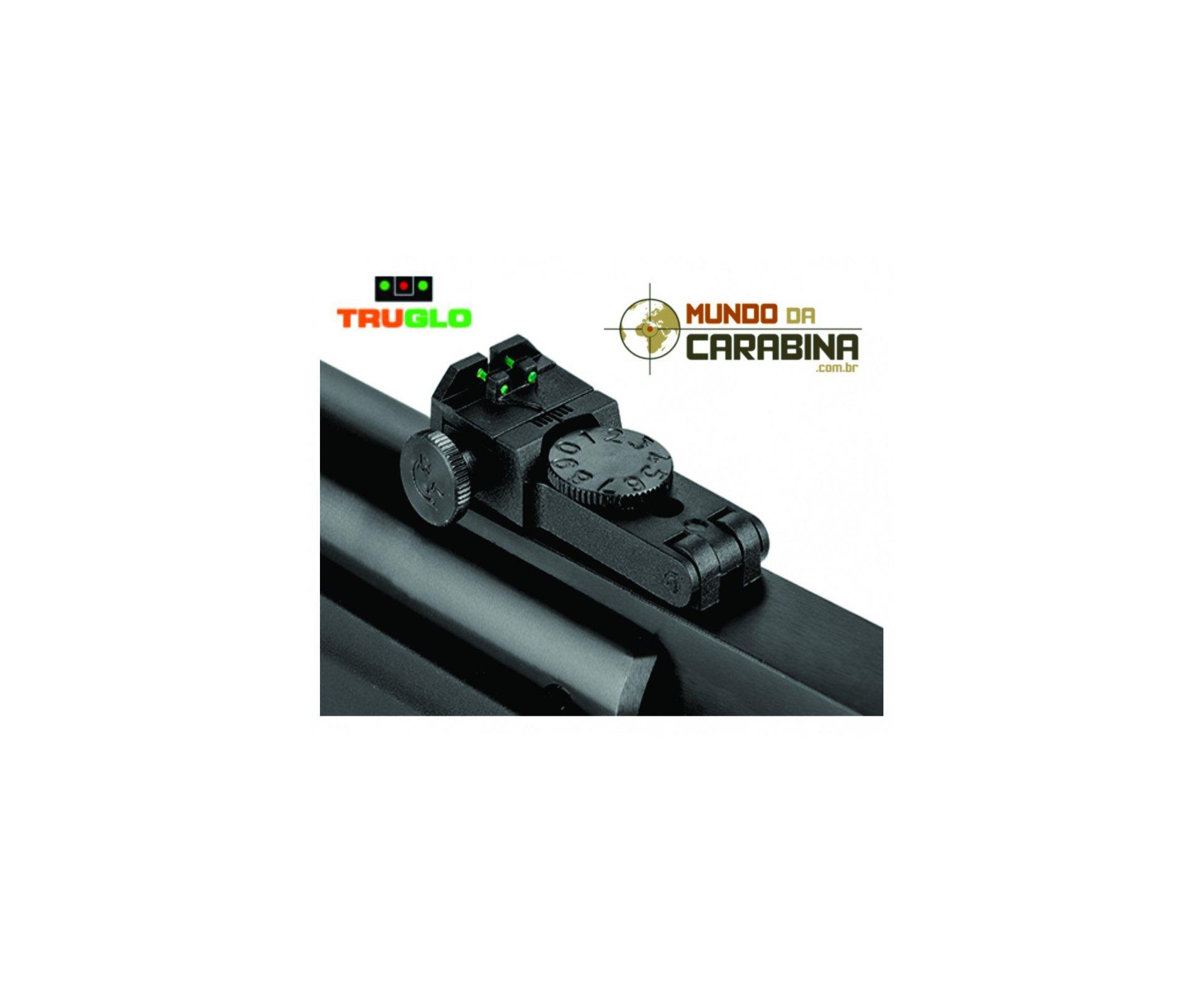 Carabina De Pressão Hatsan Striker Edge Cal 4.5 Pistão Pneumático 60kg + Luneta 4x32eg + Chumbinhos + Capa