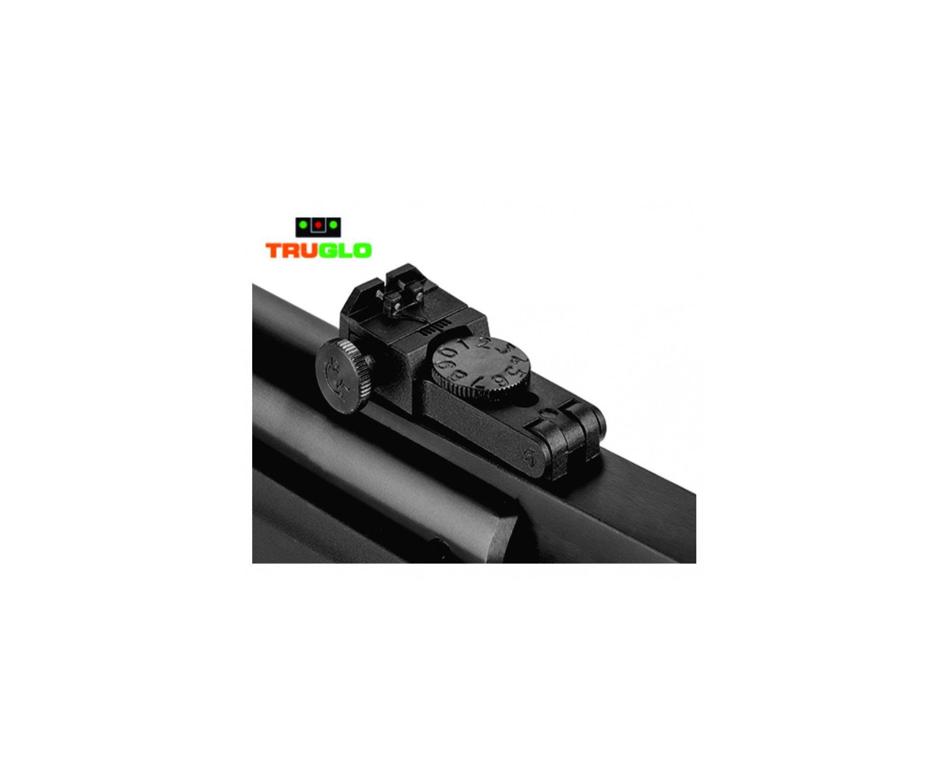 Carabina De Pressão Hatsan Striker Edge Cal 4.5 Vortex Gas Ram 60kg + Chumbinho + Capa