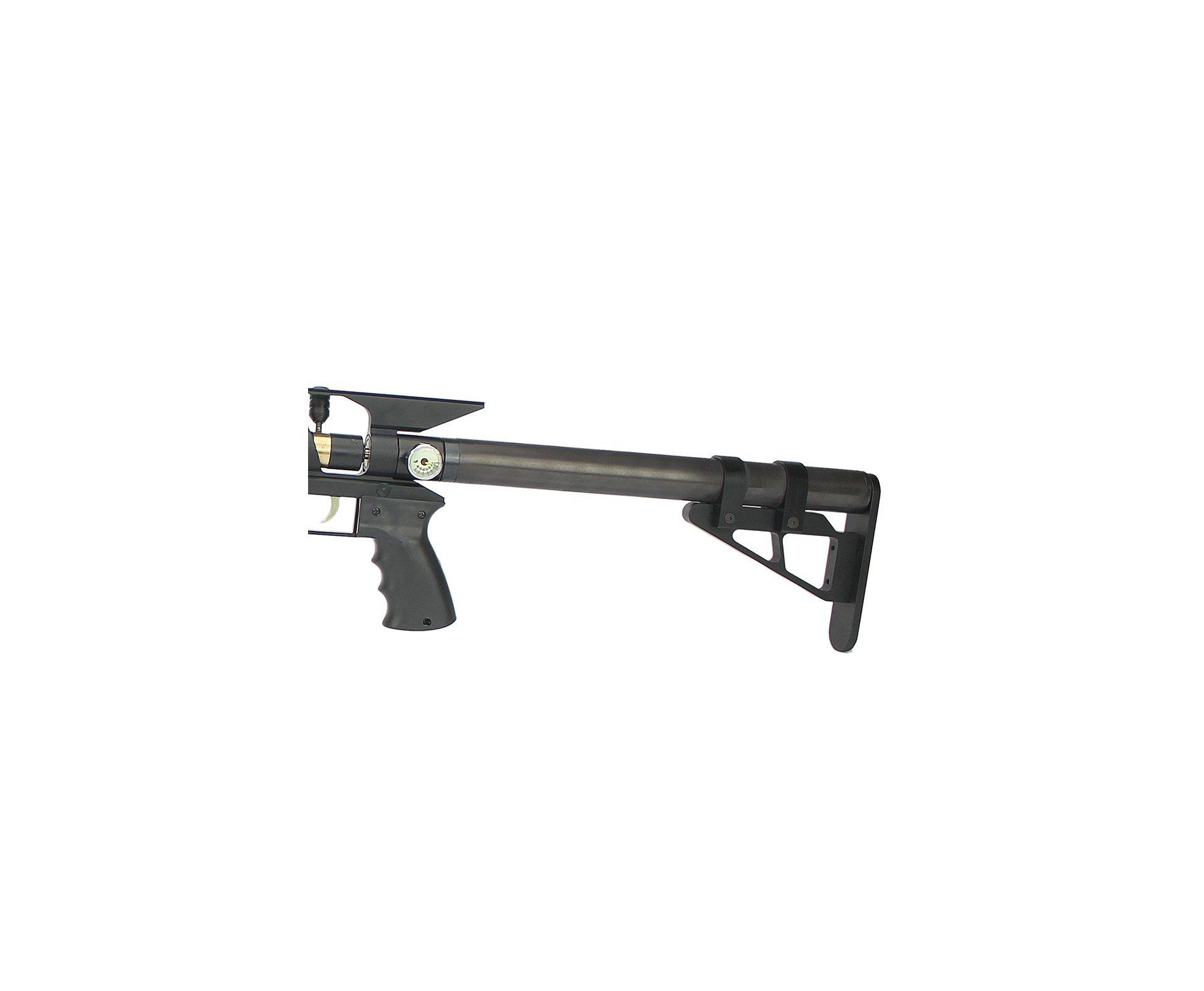 Carabina De Pressão Pcp Hunter Custon Ultra Power 5,5mm - Preta