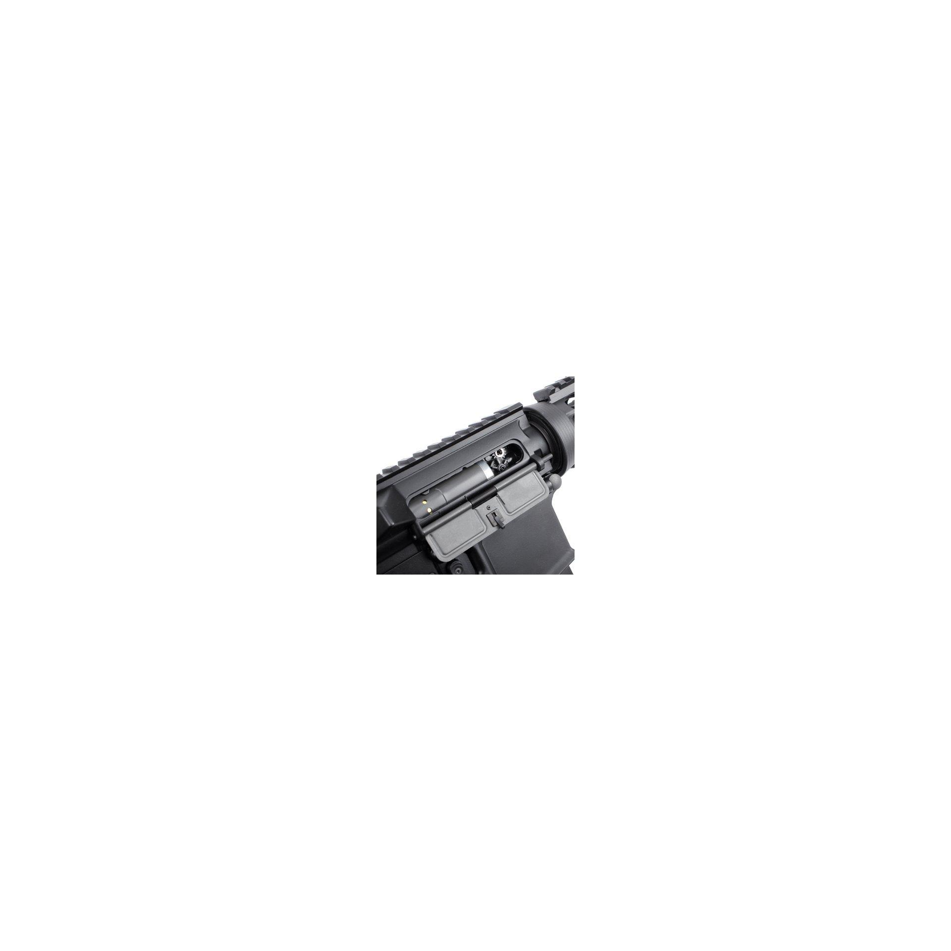 Rifle De Airsoft M4 Ris Ultra Grade Cal 6.0mm - King Arms + Pistola Glock Cyma