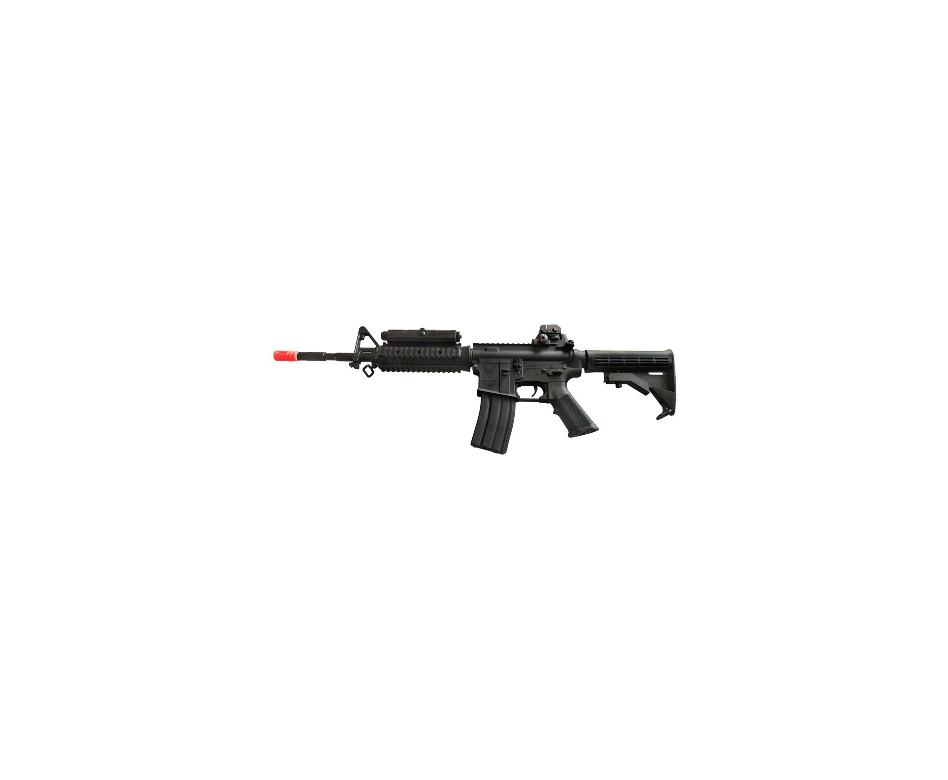 Rifle De Airsoft M4 Ris Ultra Grade Cal 6.0mm - King Arms + Pistola Glock Cyma