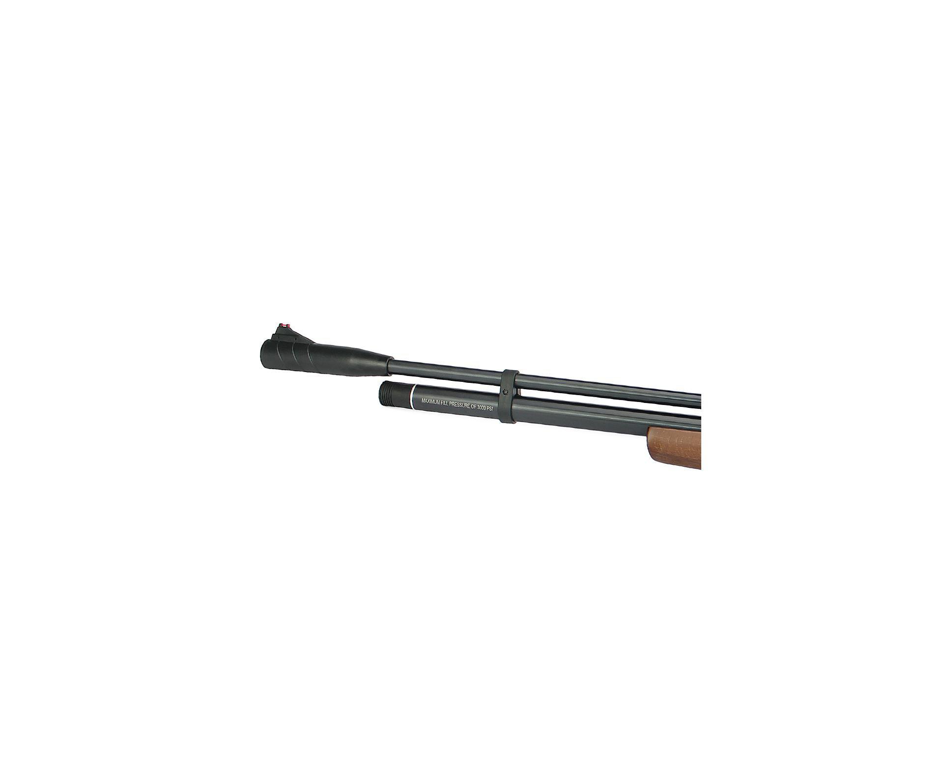 Carabina Pcp Beeman 1338 Qb Chief Madeira 10 Tiros 5,5mm - Rossi