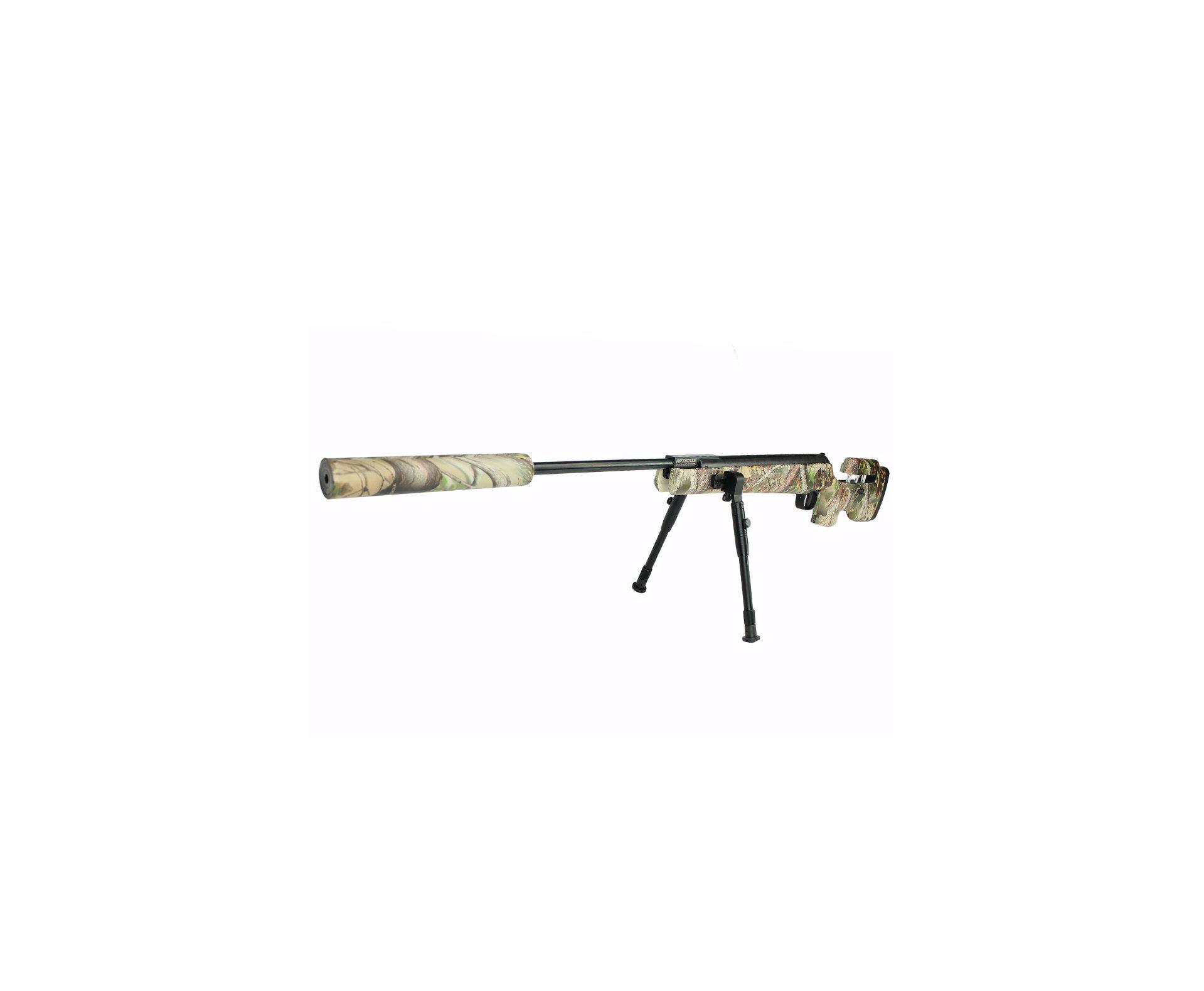 Carabina De Pressão Artemis Gp 1250c Sniper Gas Ram 70kg Camuflada 5.5mm
