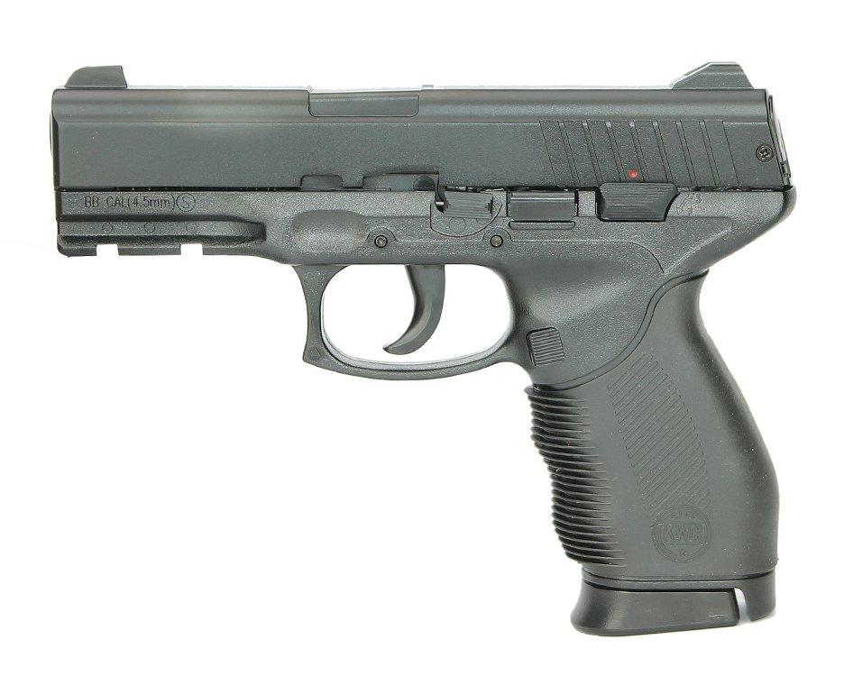 Pistola De Pressão 24/7 Spring Slide Metal 4,5mm - Kwc