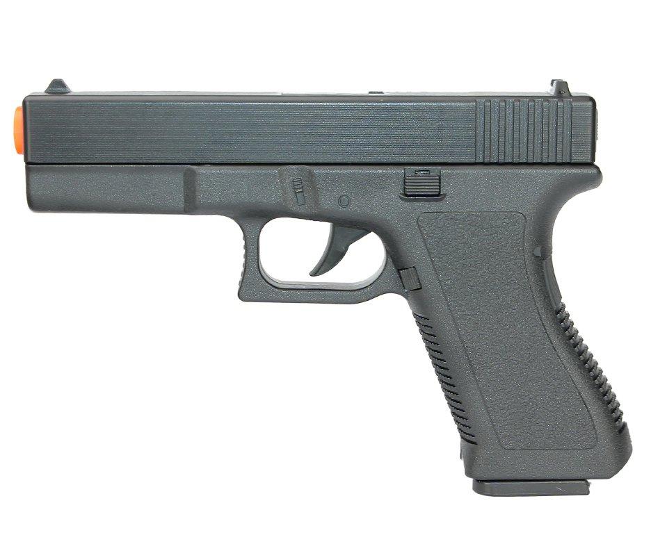 Pistola De Airsoft Vigor Glock Gk-v307 Spring Cal 6mm Rossi