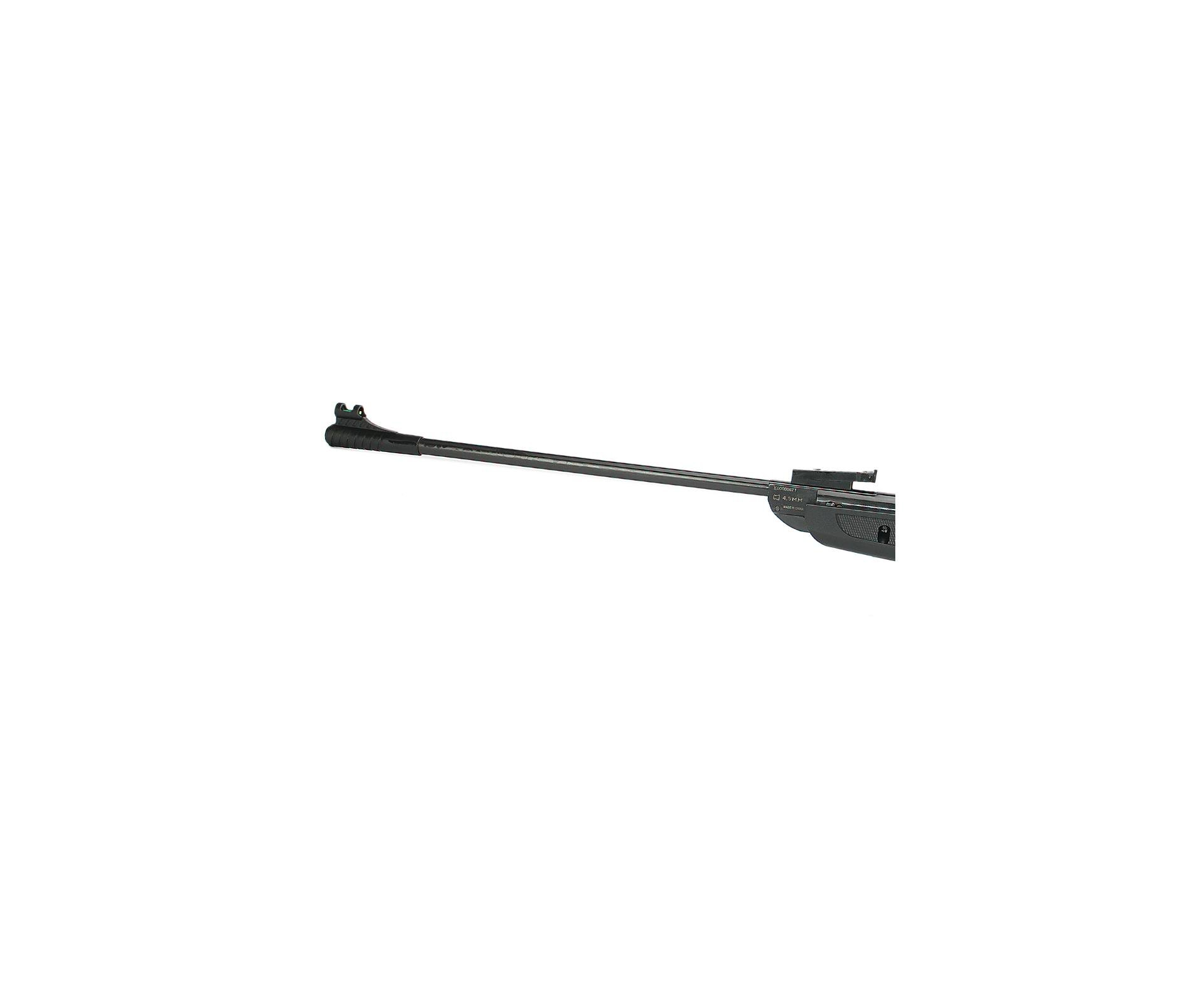 Carabina De Pressão Rossi Dione New Black Sport Polímero 4,5mm