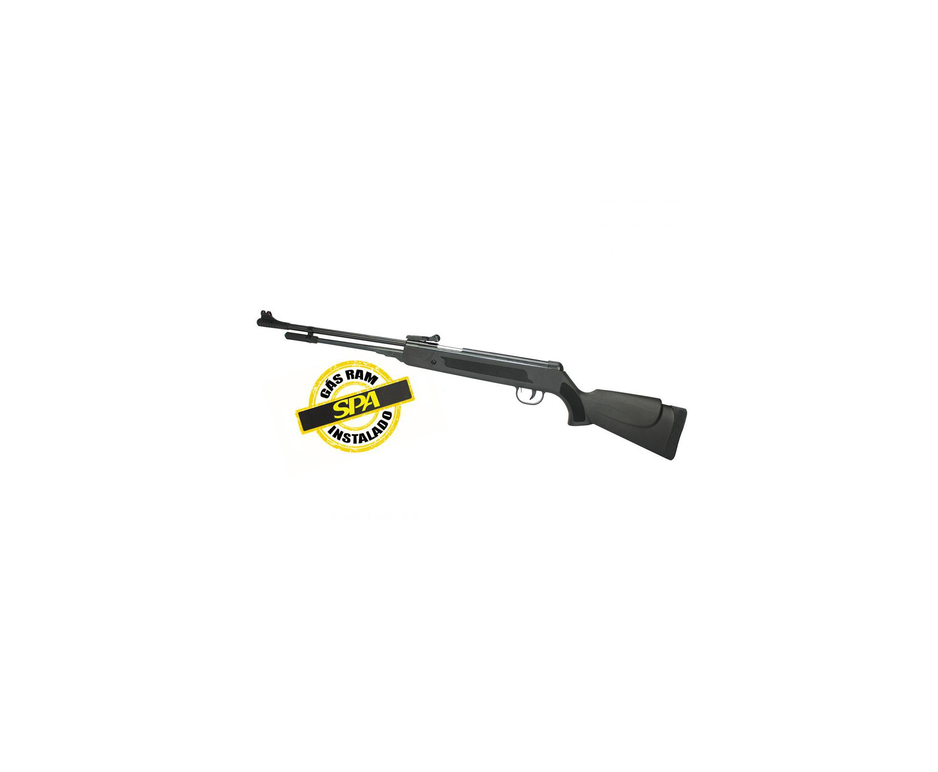 Carabina De Pressão Black Nitro Power Cal 5,5 Gas Ram 50kg Spa Instalado Fxr Fixxar